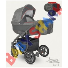 Универсальная коляска 2в1 Camarelo Lupus 05