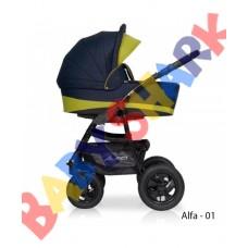 Универсальная коляска 2в1 Riko Alfa Еcco 01