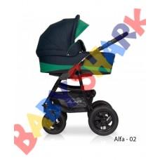 Универсальная коляска 2в1 Riko Alfa Еcco 02