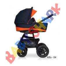 Универсальная коляска 2в1 Riko Alfa Еcco 04