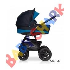 Универсальная коляска 2в1 Riko Alfa Еcco 06