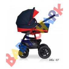 Универсальная коляска 2в1 Riko Alfa Еcco 07
