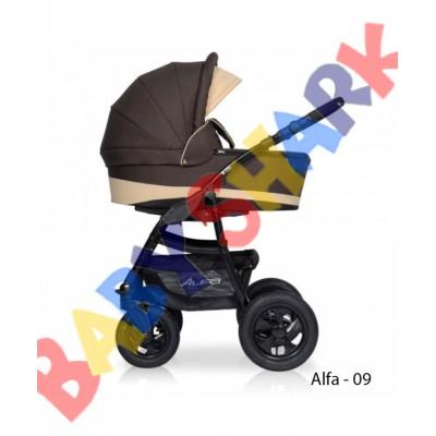 Универсальная коляска 2в1 Riko Alfa Еcco 09