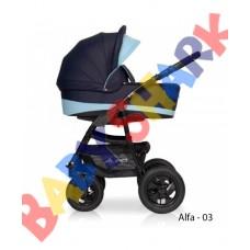Универсальная коляска 2в1 Riko Alfa 03