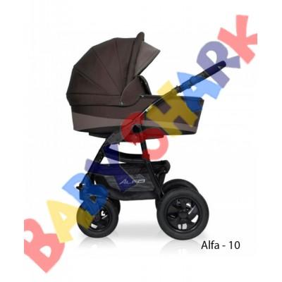 Универсальная коляска 2в1 Riko Alfa 10