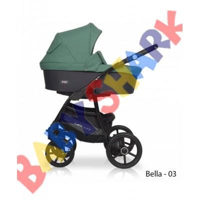 Универсальная коляска 2в1 Riko Bella 03