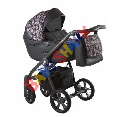 Универсальная коляска 2в1 Roan Esso Brown Sequins