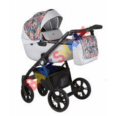 Универсальная коляска 2в1 Roan Esso Grey Folk