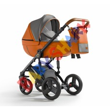 Универсальная коляска 2в1 Verdi Mirage Orion  07 Digital black